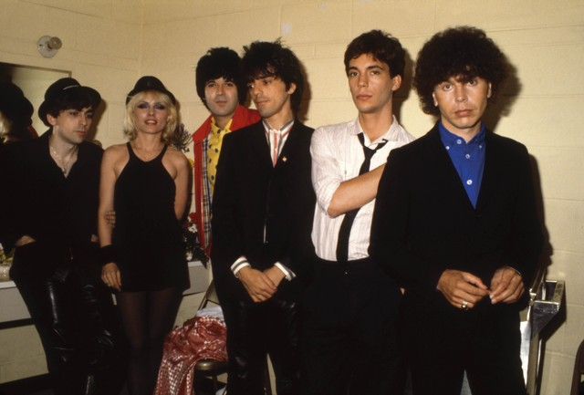 Photo of Clem BURKE and BLONDIE and Chris STEIN and Debbie HARRY