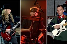 Jerry Cantrell, Patrick Carney, and Brad Shultz