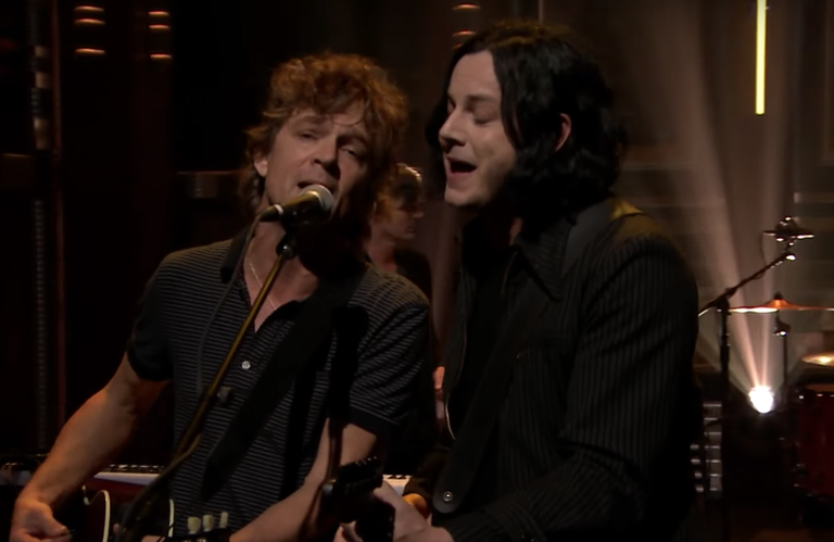 Jack White Brendan Benson The Raconteurs Jimmy Fallon