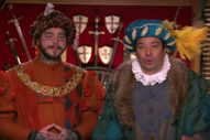 Watch Post Malone & Jimmy Fallon Go To Medieval Times