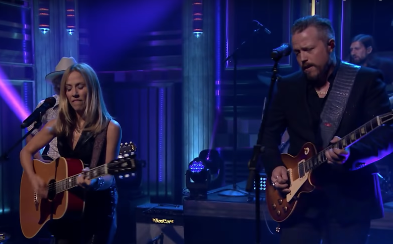 Jason Isbell Sheryl Crow Fallon Watch