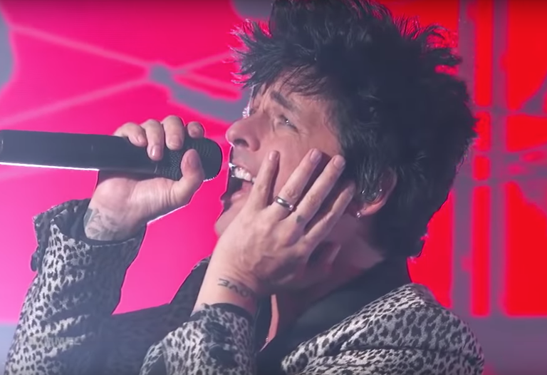 Green Day Jimmy Kimmel Live