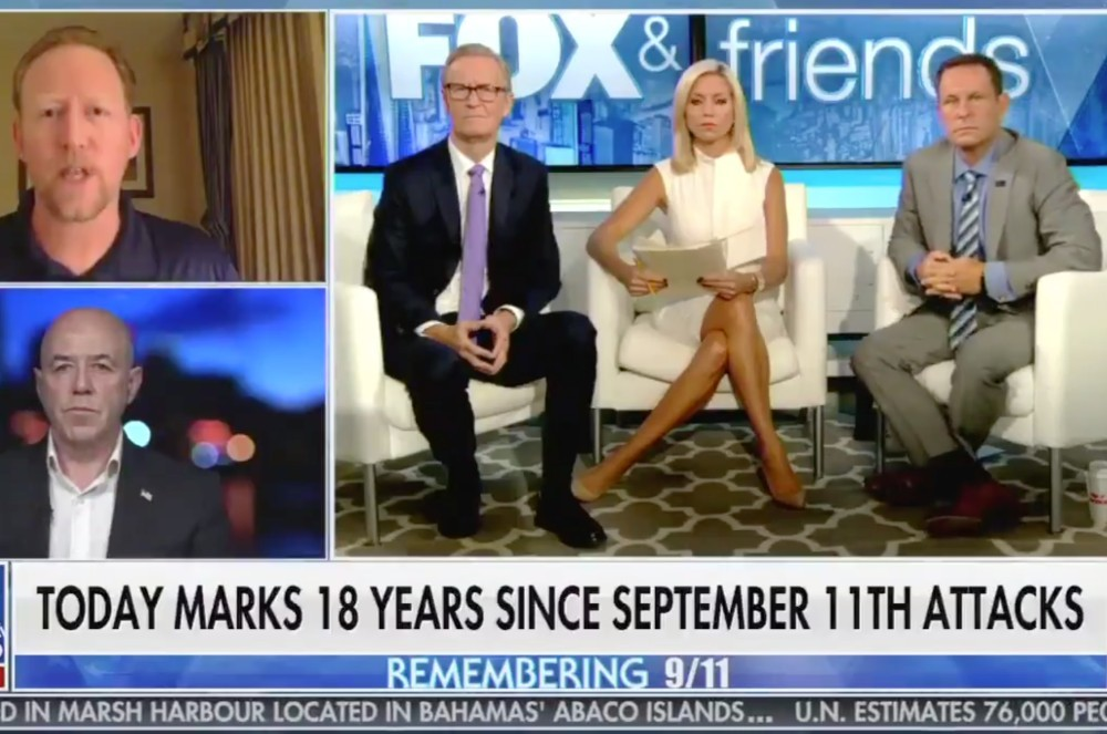 'Fox & Friends' Host Fixates on 9/11 Victim Who Held Her Skirt Down While Falling
