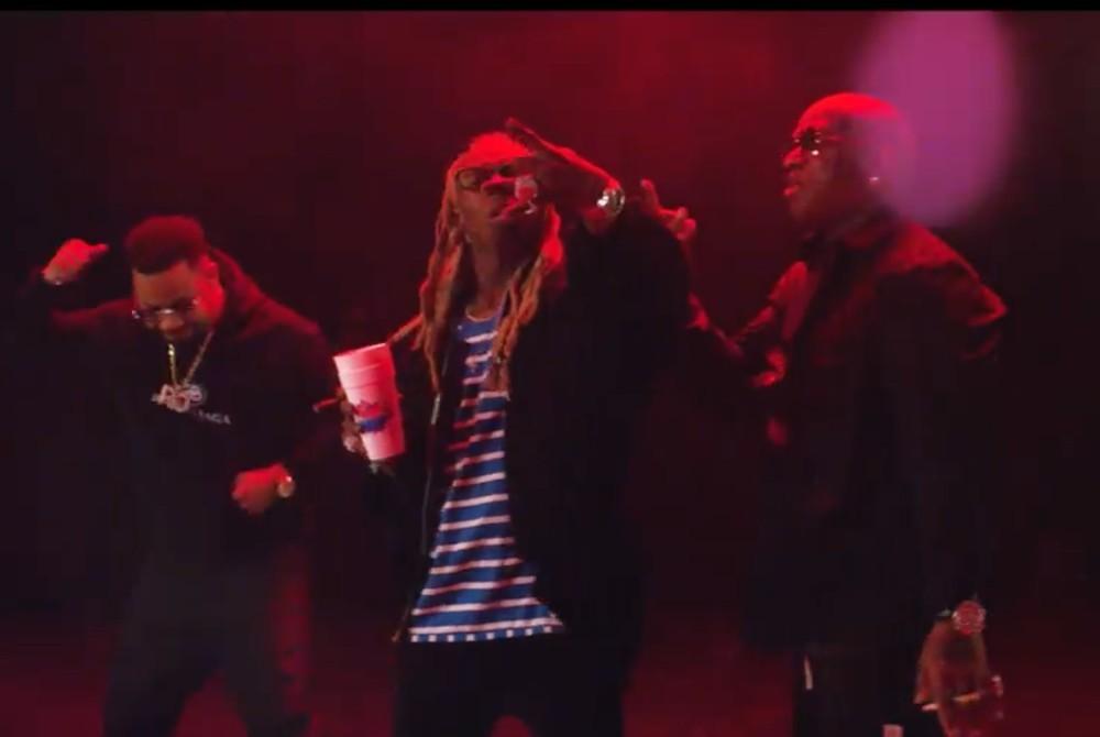 "Birdman, Juvenile, and Lil Wayne Reunite in ""Ride Dat"" Video"