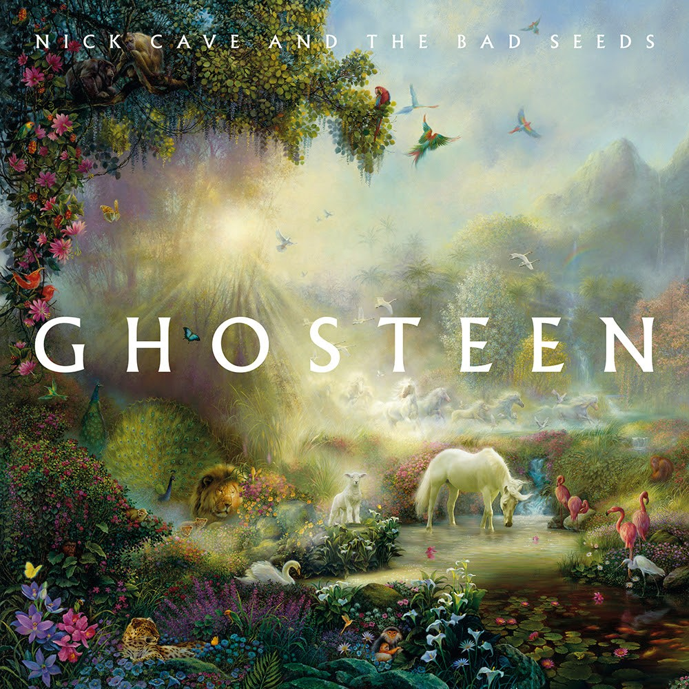 Nick Cave and the Bad Seed's Ghosteen album cover