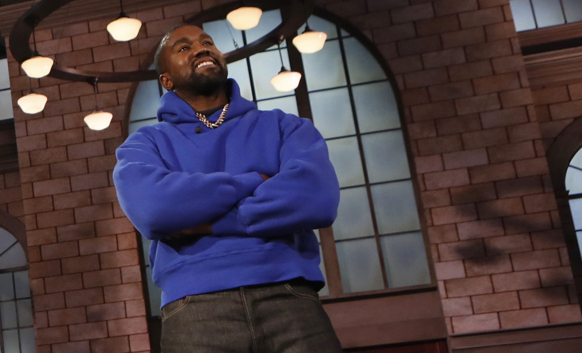 Kanye West on Jimmy Kimmel Live talking Jesus Is King