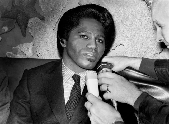 James Brown In Paris In 1967