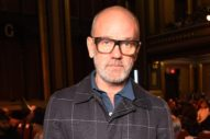 Michael Stipe Reads Vedic Scripture, Buys Dog Food in Bulk, and Has Great Taste in Shelves