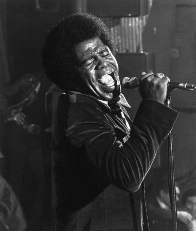 James Brown Performing