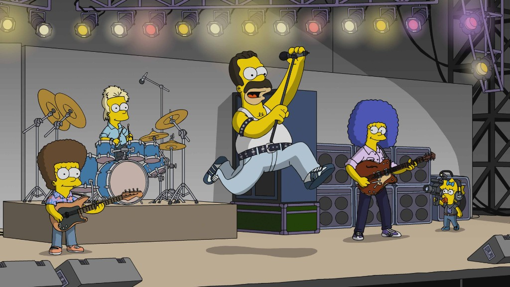 12 Best Rock Star Cameos on 'The Simpsons'
