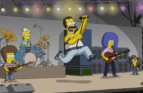 12 Best Rock Star Cameos on The Simpsons