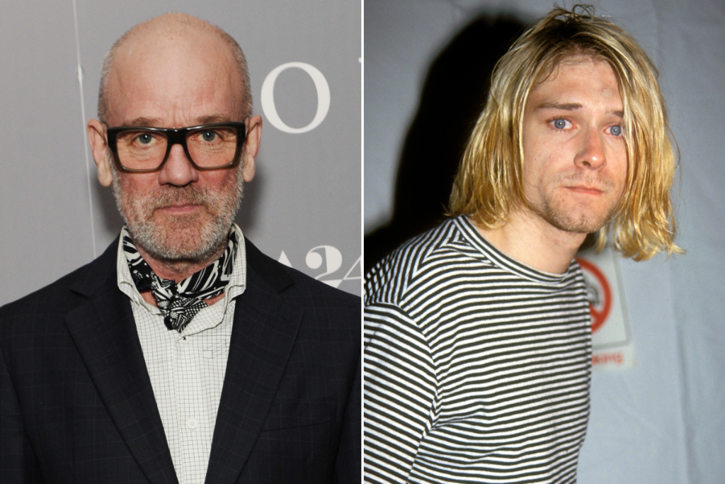 R.E.M. Strip Down Their Kurt Cobain Tribute With a New Remix: Listen
