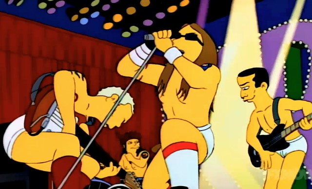 Red Hot Chili Peppers on The Simpsons