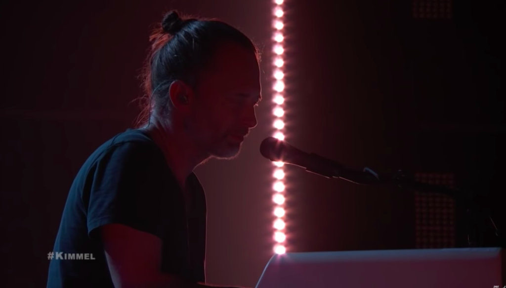 Thom Yorke Gave a Wild Performance of Three Solo Songs on 'Kimmel'