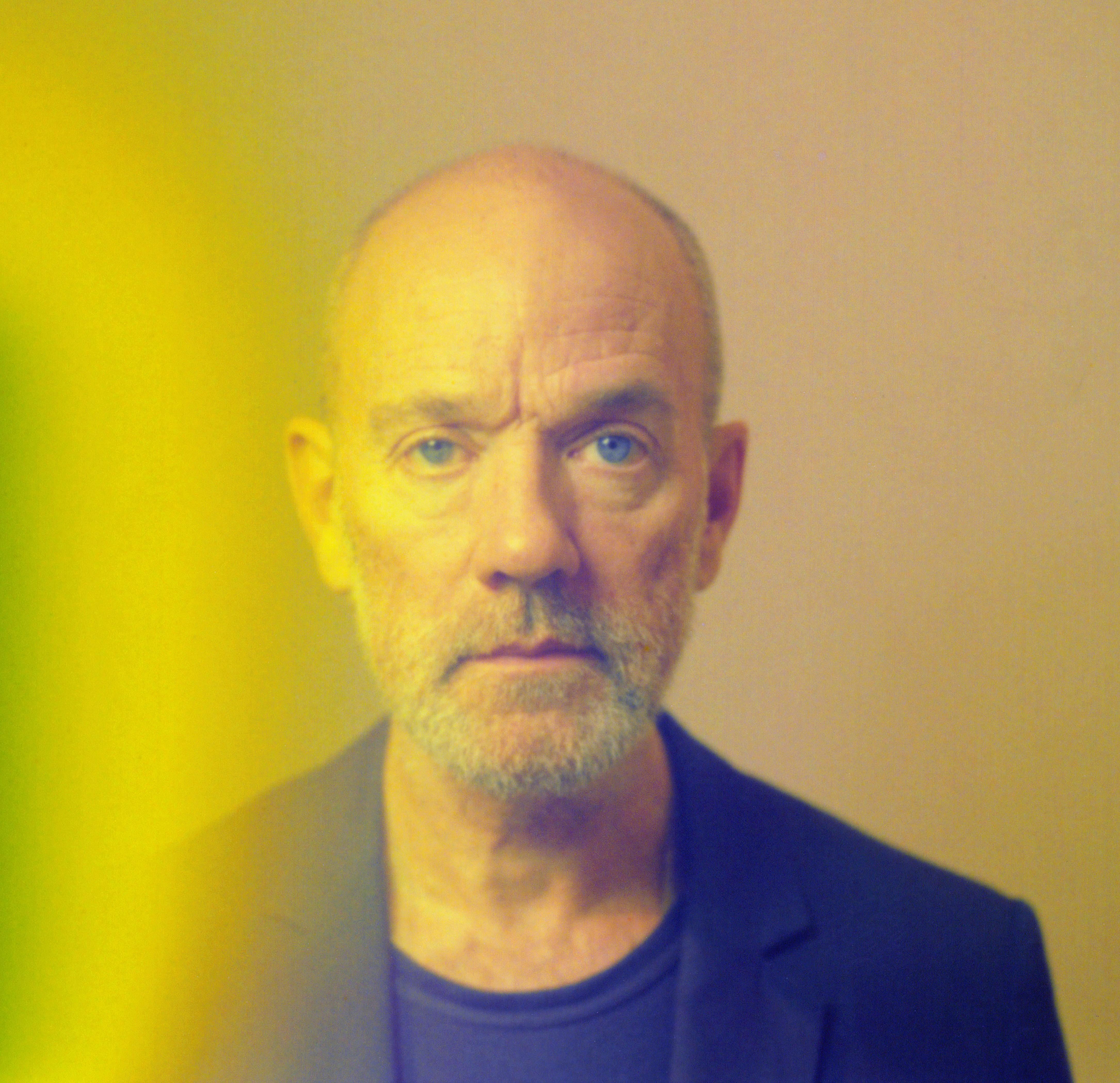 Michael Stipe self-portrait polaroid