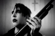 "Marilyn Manson Buries Himself in New ""God's Gonna Cut You Down"" Video"