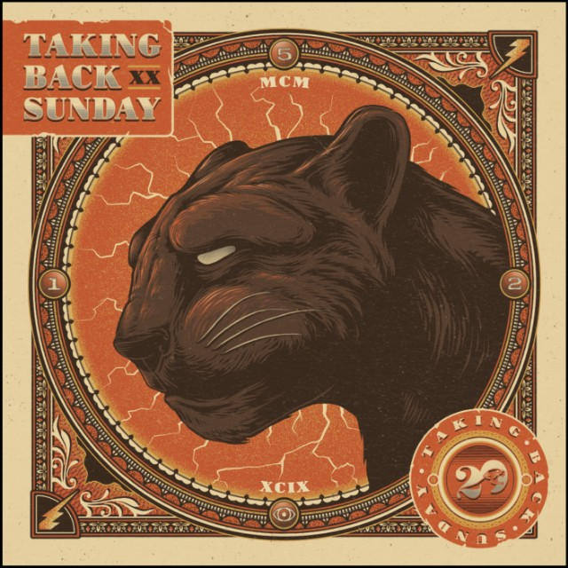 Taking Back Sunday 'Twenty' album cover