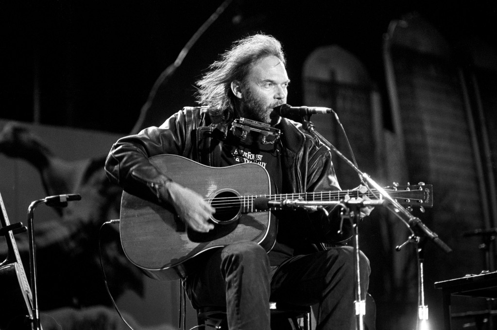 Neil Young: Our 1993 Artist of the Year Interview