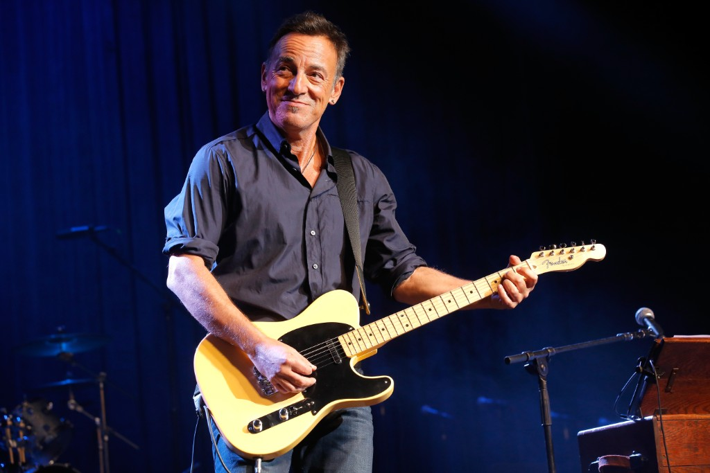 Bruce Springsteen Performs 'Born to Run' Classics at Surprise Ashbury Park Benefit Concert