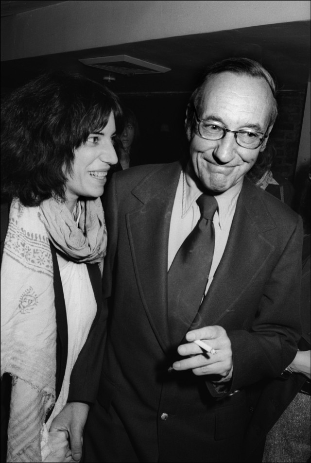 William Burroughs & Patti Smith At Beatnik Party