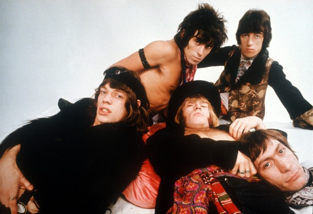 Rolling Stones Gather Moss