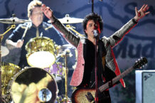 Billie Joe Armstrong and Green Day in 2019