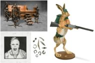 Keith Flint's Personal Items—Including a Taxidermy Rabbit and Piercings—Have All Sold at Auction