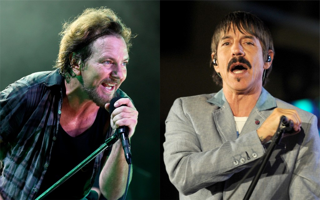 Eddie Vedder Joins Red Hot Chili Peppers to Cover Prince and Jimi Hendrix in L.A.