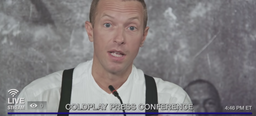 Coldplay Team Up With Carrie Brownstein and Fred Armisen to Announce Concert Livestream