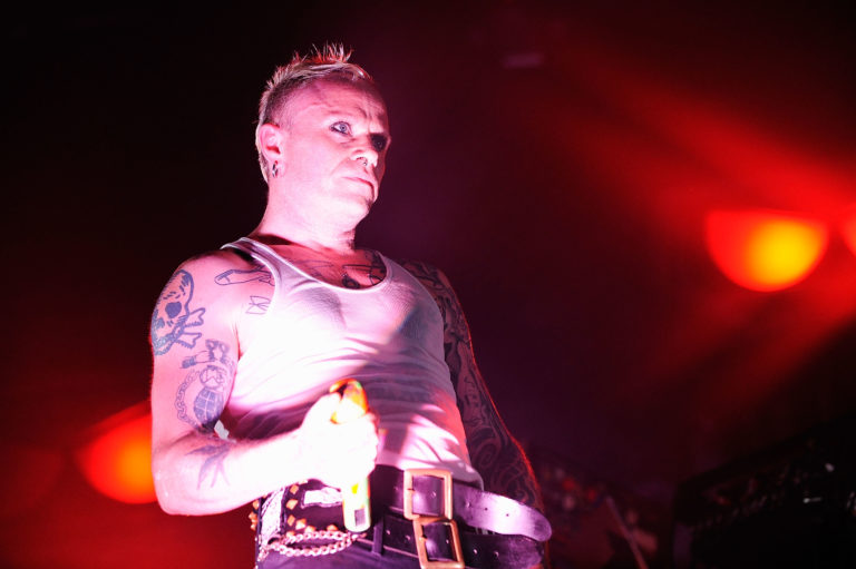 Keith Flint of The Prodigy