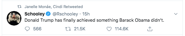 Janelle Monae impeachment tweet