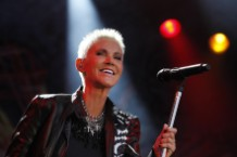 Marie Fredriksson of Roxette performing in 2011