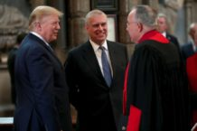 Donald Trump Lies About Knowing Prince Andrew