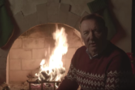 Kevin Spacey Posts Bizarre Holiday Video as <i>House of Cards</i> Character