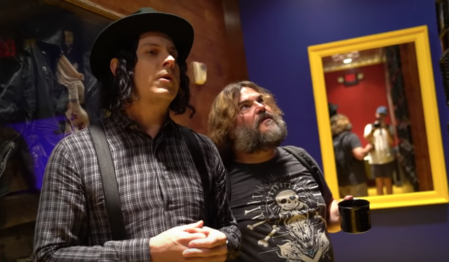 Jack White and Jack Black, Together