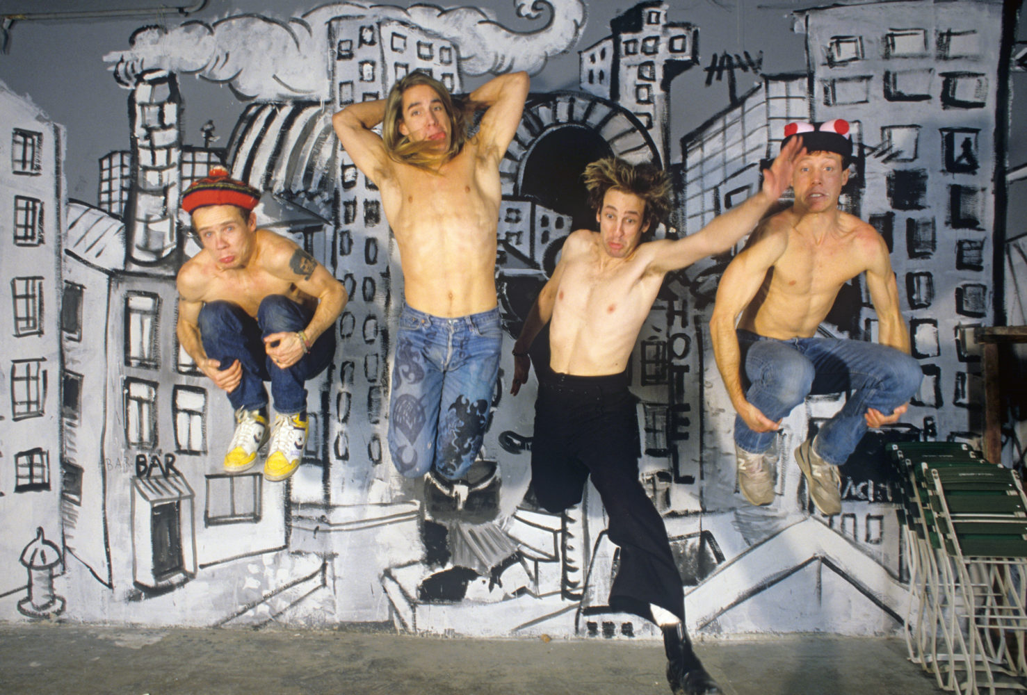 Red Hot Chili Peppers: Our 1990 Cover Story