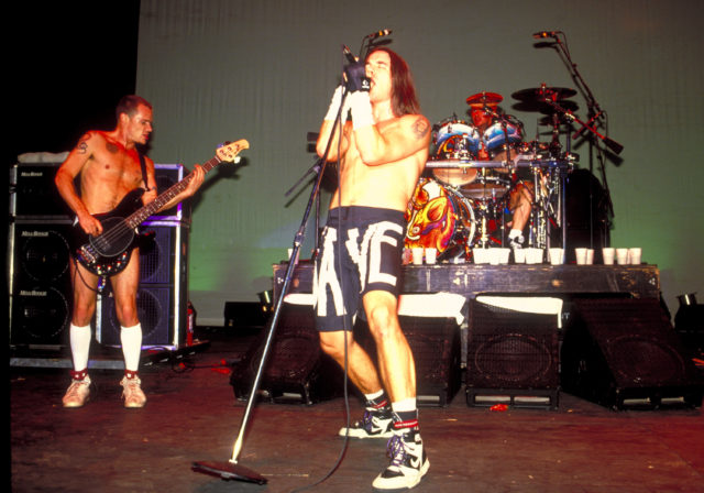 Red Hot Chili Peppers in Concert at Waterloo - 1991