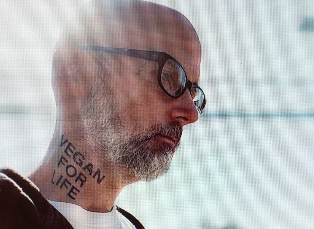 "Moby and Dead Kennedys' D. H. Peligro Partner on ""Power Is Taken"""