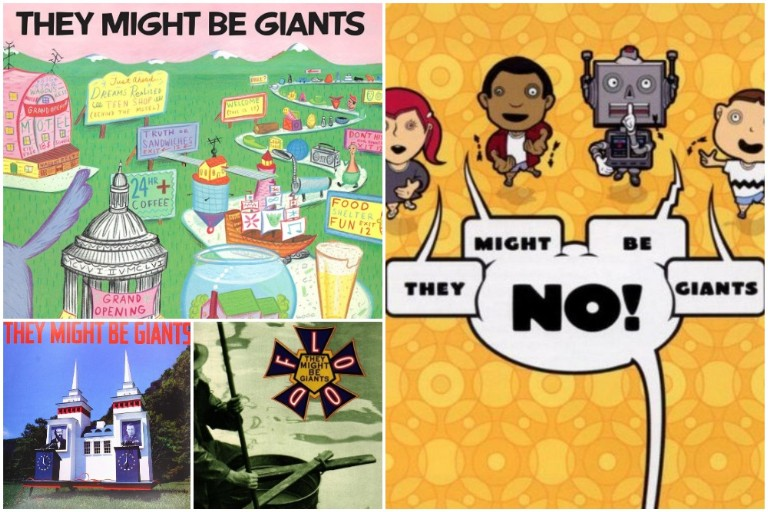 They Might Be Giants album covers