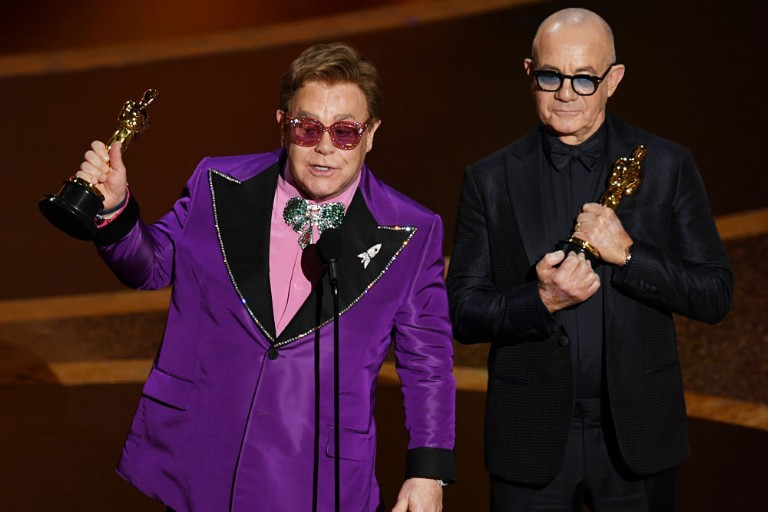 Best Original Song Elton John Bernie Taupin 92nd Annual Academy Awards