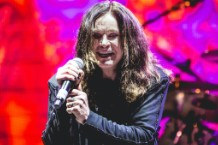 Ozzy Osbourne singing