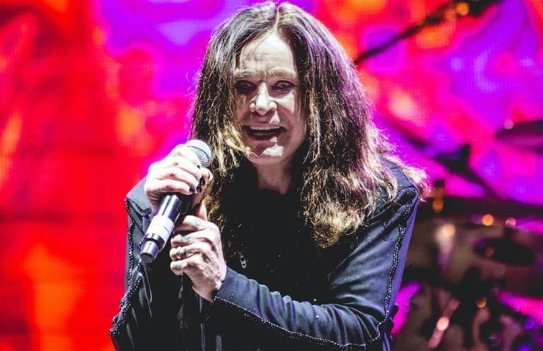 Ozzy Osbourne singing