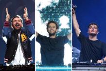 David Guetta, Zedd, Matrin Garrix