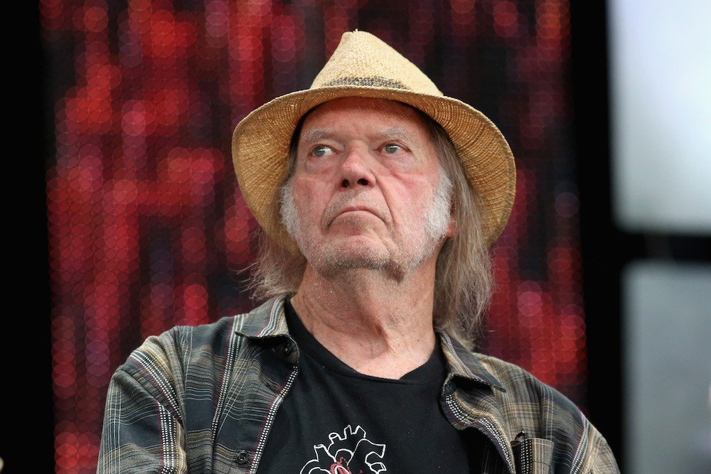 Neil Young's surprising message for Trumpers