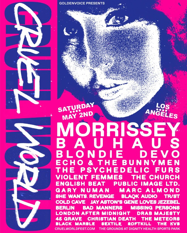 Cruel World Fest festival lineup