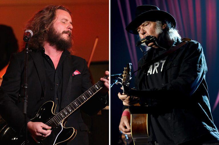 Jim James Neil Young