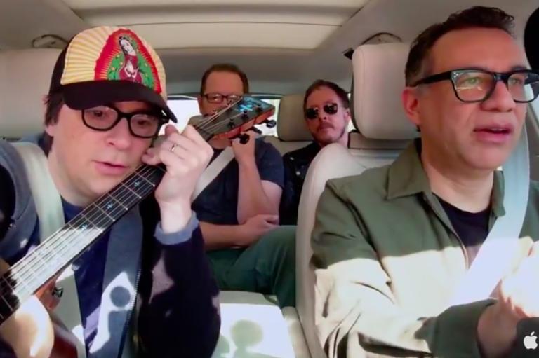 Weezer Carpool Karaoke