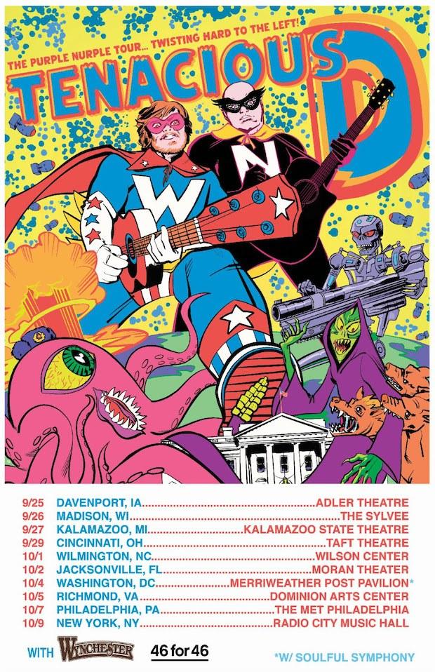 Tenacious D tour dates
