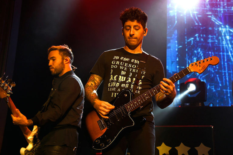 Joe Trohman of Fall Out Boy