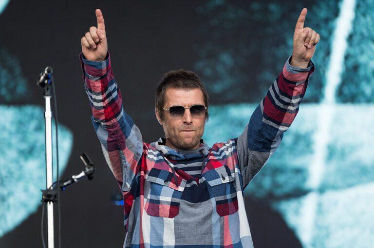 Liam Gallagher at Glastonbury 2019